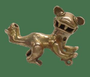 Museo del Oro Precolombino- Felino de dos cabezas