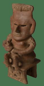 Museo del Oro Precolombino- Mujer con deformación craneal