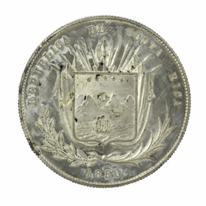 Moneda de 1 peso, 1850