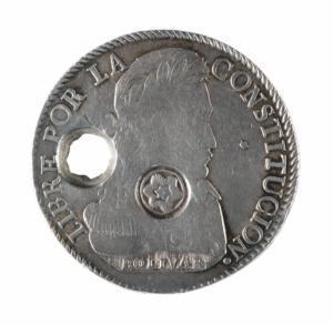 Moneda de 8 reales, 1841