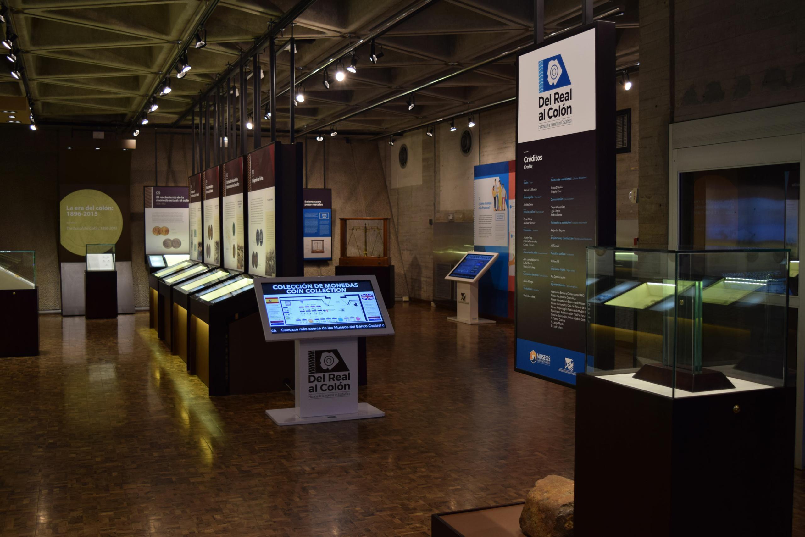 Museo de Numismática- sala