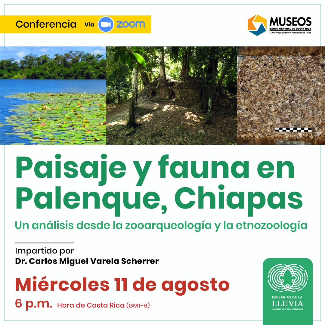 Charla Palenque Chiapas